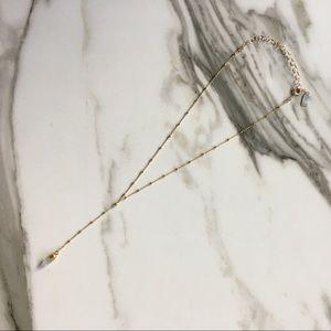 Pashey Bella Moonstone Lariat Necklace